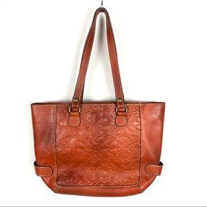 Patricia Nash 100% Italian Tooled Leather Bag